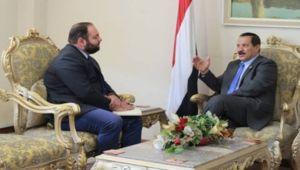 مدير مكتب جريفيث في صنعاء لبحث نتائج مشاورات السويد