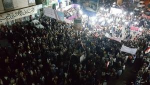 احتفاء شعبي واسع في تعز بذكرى ثورة 11 فبراير التاسعة