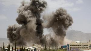 جماعة الحوثي تتهم التحالف باستهداف مستلزمات طبية في صنعاء