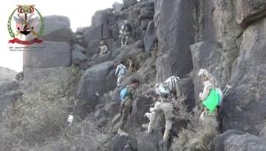 تعز.. الجيش الوطني يحرر مواقع جديدة بجبهة مقبنة غربي المحافظة