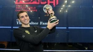 المصري علي الفرج يتوج ببطولة العالم للإسكواش
