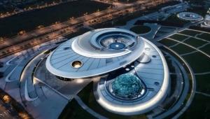 عين وقبة وكرة.. شاهد- 3 ألغاز يحلها أكبر متحف فلك في العالم بهندسة معمارية حديثة