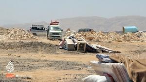 نزوح أكثر من ألف أسرة عقب سيطرة الحوثيين على مناطقها في البيضاء