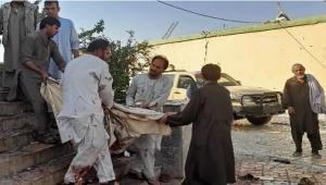قتلى وجرحى في تفجير داخل مسجد أثناء صلاة الجمعة في ولاية قندوز شمالي أفغانستان