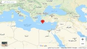 زلزال يضرب البحر المتوسط يشعر به سكان عدد من الدول