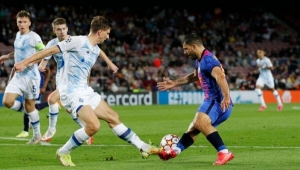 برشلونة يحصد أول ثلاث نقاط له في دوري الأبطال بفوز هزيل