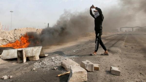 قتلى وجرحى في مظاهرات بغداد وتصدير النفط بالبصرة ما زال معطلا