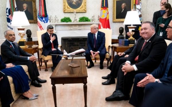 ترامب يعد بانضمام دول أخرى.. البيت الأبيض يحتضن اتفاق تطبيع الإمارات والبحرين مع إسرائيل
