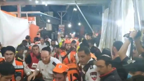 تقرير: 44 قتيلا خلال احتفال يهودي شمالي إسرائيل
