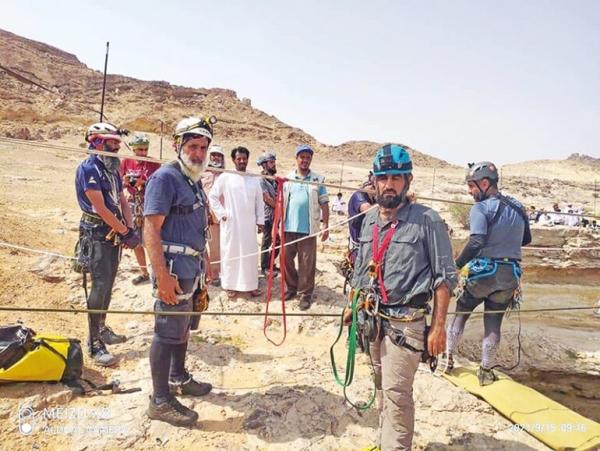 Omani team explores 'Well of Hell' in Yemen
