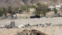 شبوة: عمليات سحب واعادة انتشار تنفذها مليشيا الحوثي ببيحان