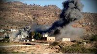 صاروخ اطلقته المليشيا باتجاه السعودية من همدان يسقط في عمران