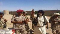 لواء النصر يؤكد السيطرة الكاملة على بير المرازيق بالجوف