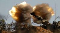 الحدود اليمنية السعودية مشتعلة والقوات السعودية تدمر أكبر مركز عمليات للحوثيين بصعدة