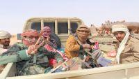 الجوف : الجيش والمقاومة يتقدمان في المتون ويقتربان من قطع خط امداد الانقلابيين في الغيل