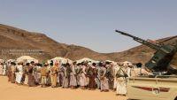 الانقلابيون يقصفون قرى المصلوب بصواريخ الكاتيوشا غرب الجوف