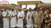 الشيخ حمود المخلافي في ضيافة مقاومة الجوف
