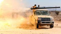 مليشيا الحوثي وصالح تقصف مواقع الجيش في الجوف