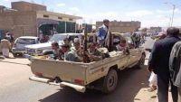 عمران :مدير أمن المحافظة المعين من قبل المليشيا يقوم بعملية دمج واسعة لعناصر الجماعة في الجهاز الأمني