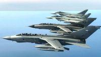 قتلى وجرحى من الحوثيين في غارات لطيران التحالف على مواقع للمليشيا في الجوف