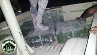 قوات الحزام الأمني تداهم مزرعة في لحج وتعثر على أسلحة