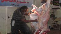 سفراء الخير في إب تنفذ حملة توزيع لحوم الأضاحي للأسر النازحة