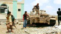 قوات الجيش والمقاومة تسيطر على مواقع في كرش بلحج وهروب جماعي للحوثيين باتجاه مدينة الراهدة