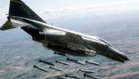 عشرات الغارات لطيران التحالف على مناطق متفرقة في صعدة