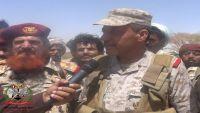 اللواء أمين الوائلي يبشر بتوالي الانتصارات في الجوف بعد سقوط معقل الحوثيين في الغيل