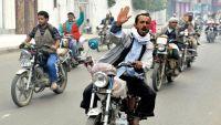 عمران : مليشيا الحوثي تزج بالعشرات من أصحاب الدراجات النارية للسجون وترغمهم على دفع مبالغ مالية