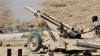 البيضاء: قصف مدفعي وصاروخي للمليشيا على مزارع وممتلكات المدنيين في قيفة برداع