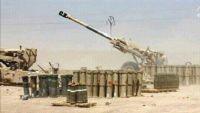 مدفعية الجيش الوطني تدمر معملا لصناعة المتفجرات في مدينة حرض بحجة
