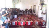 جثث جديدة لمليشيا الحوثي تصل عمران قادمة من الحدود