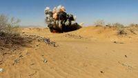 شبوة: وحدات الجيش تتلف كميات من الألغام زرعتها ميليشيات الحوثي والمخلوع (صور)