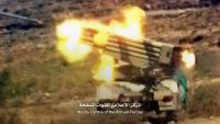 الضالع : مدفعية الجيش الوطني تقصف مواقع المليشيا في قرية رمه