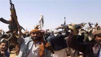 الأهالي يمنعون مليشيا الحوثي من اختطاف ناشط في مديرية المدان بعمران