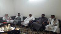 محافظ صعدة يلتقي رئيس وأعضاء اتحاد شباب إقليم آزال
