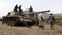 مواجهات عنيفة بين الجيش والمليشيات بجبهة حمك غرب الضالع