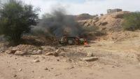 شبوة.. مقتل أحد عناصر القاعدة ونجاة مرافقهبغارة أمريكية