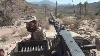 مقتل مسلح حوثي وجرح آخر أثناء تصدي الجيش لعملية تسلل بجبهة مريس شمالي الضالع