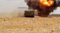 حجة.. غارات وقصف مدفعي مكثف يستهدف الحوثيين في حرض وميدي وعبس