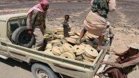 الفرق الهندسية للجيش تنتزع 400 لغم زرعها الحوثيون في صرواح غربي مأرب