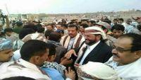 سلطان العرادة يعود إلى محافظة مأرب بعد غياب دام لأشهر