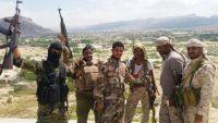 قوات الأمن في أبين تلتحم بقوات النخبة في شبوة بعد السيطرة على المحفد