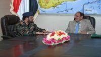 نائب الرئيس يطلع على الحالة الأمنية في محافظة الجوف