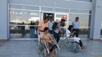 64 جنديا من جرحى الجيش الوطني يغادرون مأرب إلى مصر لتلقي العلاج
