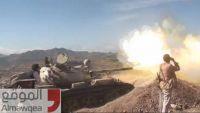 الضالع.. الجيش يحرق طقما للمليشيا بمريس ويشن غارة على مواقع بجبل مرمق
