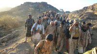 تحرير مناطق جديدة بالبيضاء وتعزيزات عسكرية جديدة للجيش الوطني