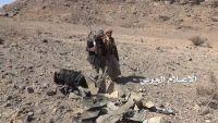 الحوثيون ينشرون فيديو وصورا للحظة إسقاط طائرة للتحالف بصنعاء وحطام أخرى بصعدة