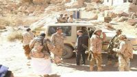 ناطق التحالف العربي يزور مأرب وجبهة نهم رفقة فريق إعلامي أمريكي